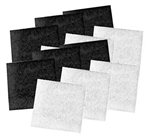 Pondmaster Coarse Poly Carbon Replacement Pad 6 Pack