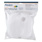 Aqueon QuietFlow Canister Filter 200 Replacement Polishing Pads, 2-Pack