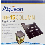 Aqueon 15 Column Deluxe Kit Replacement Hood w/ Lights RES00066