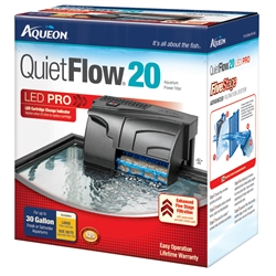 Aqueon QuietFlow 20 Power Filter Aqueon Quiet Flow 20
