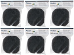 Aqueon QuietFlow Canister Filter 200 Replacement Coarse Foam Pads, 12-Pack Package