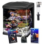 Coralife Size 16 LED BioCube Aquarium Package with Protein Skimmer and FREE Hydrometer and Cleaning Magnet