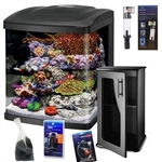 Coralife Size 16 LED BioCube Aquarium Basic Reef Package