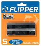 Flipper Standard Stainless Steel Replacement Blades 2 pack