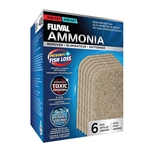 Fluval 306/307/406/407 Filter Replacement Ammonia Remover Pads, 6-Pack (Fluval A258)