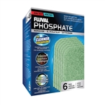 Fluval 306/307/406/407 Filter Replacement Phosphate Remover Pads, 6-Pack (Fluval A261)