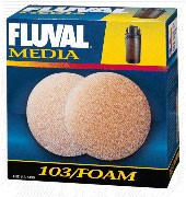 Fluval 103 Foam Block 2-Pack