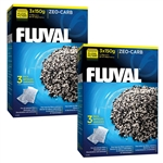 Hagen Fluval Zeocarb, Six-Pack (2X 150 Gm Three-Packs)