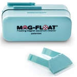 Mag-Float-130 Medium Acrylic Aquarium Cleaner with Free Scraper Holder and Blade