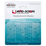 Mag-Float Replacement Lg & Lg+ Scraper Acrylic Blade 4-Pack