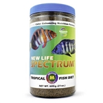 New Life Spectrum Tropical Fish Diet, Medium Pellet, 2mm - 2.5mm, 600 grams