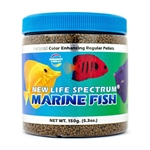 New Life Spectrum Marine Fish, Regular Pellet, 1mm-1.5mm, 150 grams