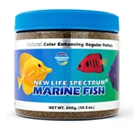 New Life Spectrum Marine Fish, Regular Pellet, 1mm-1.5mm, 300 grams