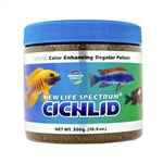 New Life Spectrum Cichlid, Regular Pellet, 1mm-1.5mm, 300 grams