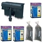 Marineland Emperor 400 Power Filter w/ One Year of Replacement Cartridges & Carbon Package