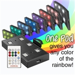 Marineland Color Changing LED POD with Remote