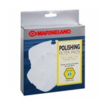 Marineland Canister Filter C-160 & C-220 Polishing Filter Pads, Rite-Size S