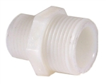 "Ocean Clear Canister Filter Replacement Nylon Nipple 3/4"" MPT x 3/4"" MPT. Ocean Clear (Red Sea) Part # 82191."