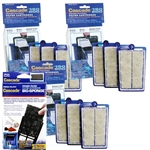 Penn-Plax Cascade 150/200 Power Filter Replacement Filter Cartridge 9-Pack (3X CPF5C3) & Bio-Sponge (1X CPF310) Package