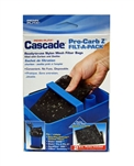 Cascade Canister Filter Pro-Carb+Z 2-Pack