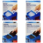 Penn-Plax Cascade 1200 & 1500 Canister Filter Replacement Bio-Floss 12-pack (2X CCF331) & Bio-Sponge 2-Pack (2X CCF329) Package