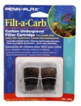 "Penn-Plax Filt-a-Carb ""E"" Carbon Undergravel Filter Cartridge, 2-Pack"
