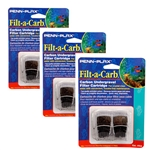 "Penn-Plax Filt-a-Carb ""E"" Carbon Undergravel Filter Cartridge 6-Pack"