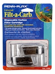 Penn-Plax Filt-a-Carb Universal Carbon Undergravel Filter Cartridge, 2-Pack