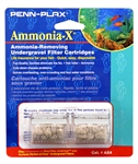 Penn-Plax Undertow & Perfect-A-Flow Ammonia-X Undergravel Filter Cartridge, 2-Pack