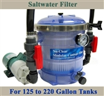 Saltwater 125 to 220 Gallon Tank Filter, Pump & Plumbing Package