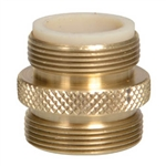 "Python Male Brass Adaptor 13/16"" X 27"