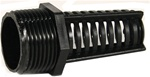 "Suction Screen 3/4"" MPT, Black"