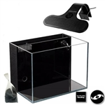 Lifegard Aquatics 4.14 Gallon Crystal Aquarium & Coralife LED Clip-On Light Expanded Package