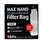 Red Sea Max Nano Replacement 225 Micron Thin-Mesh Filter Bag, 2 Pack (Red Sea Part # 40580)