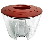 Red Sea Reefer 900 Protein Skimmer Replacement Cup & Lid (Red Sea Part # 50543)