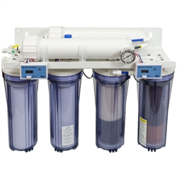SpectraPure Line Pressure Reverse Osmosis/Deionization Five-Stage MaxCap Manual Flush 180 GPD System