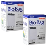 Tetra Whisper Bio-Bag Disposable Filter Cartridge, X-Large (8 Pack) Package