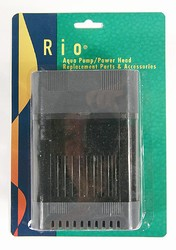 Filter conversion for Rio Aqua