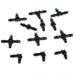 Two Little Fishies Airline Hose Fittings, 12-Piece Kit