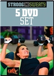 Cathe Friedrich Strong & Sweaty workout DVD series