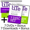 LITE . DVD Bundle + Downloads + Bonus Pyramid Pump DVD & Download