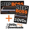 STEP BOSS DVDs & Downloads Bundle