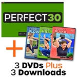 Cathe Friedrich's PERFECT30 Workout DVDs and Downloads