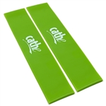 Cathe Extra-Smooth TPE Green Medium-Tension Firewalker Resistance Band Loops