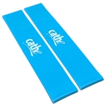 Two Cathe Extra-Smooth TPE Blue Heavy-Tension Firewalker Resistance Band Loops