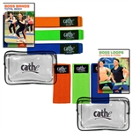 Cathe Exercise Band Boss Bands Glute Loops DVD