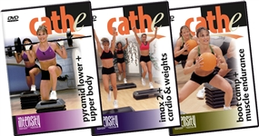 cathe Intensity Series Discount Bundle - All 3 Intensity workout DVD's