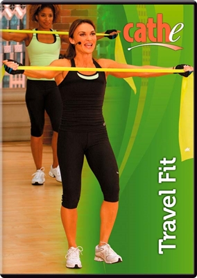 Cathe Friedrich low impact Travel Fit resistance band workout DVD