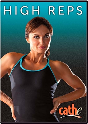 Cathe High Reps Total Body Workout and Exercise DVD