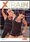 Cathe Xtrain All Out Low Impact HiiT Workout DVD